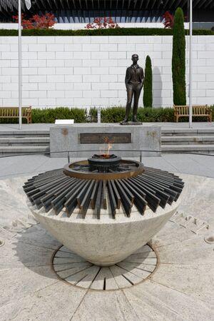 Lausanne, Switzerland, 08.16.2019, Olympic Museum of Lausanne, park and garden, Sajtókép