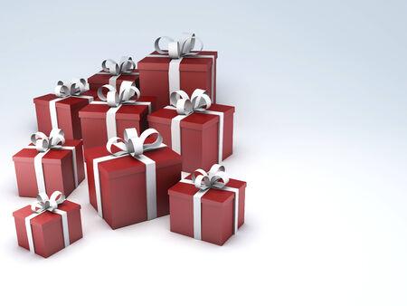 birthday gift: birthday gift box Stock Photo