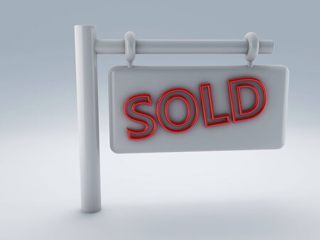 Sold sign photo