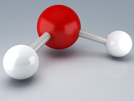 Molecule 3d photo