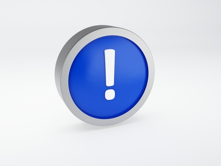 exclamation web icon photo