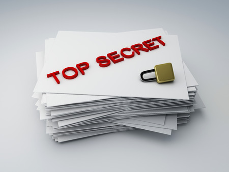 top secret archive Stok Fotoğraf