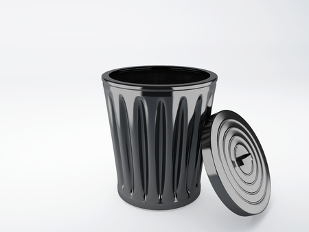refuse bin: trash bin