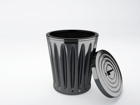 garbage bin: trash bin