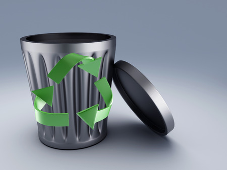 dispose: Recycle bin
