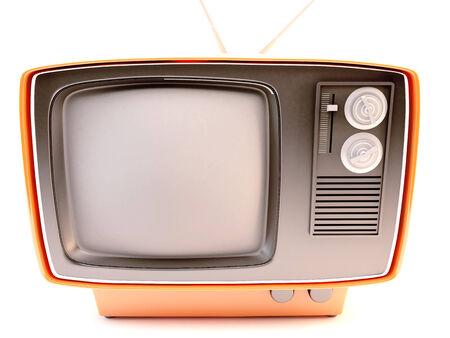 retro TV 3d photo