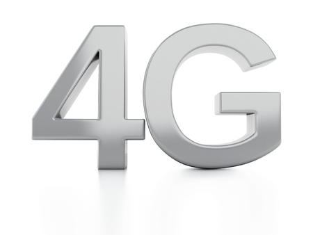 4g: 4G icon. wireless communication technology concept