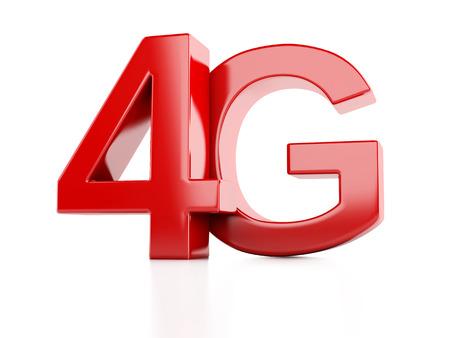 wireless communication: 4G icon. wireless communication technology concept