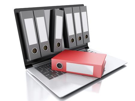 image of 3d Archive concept.