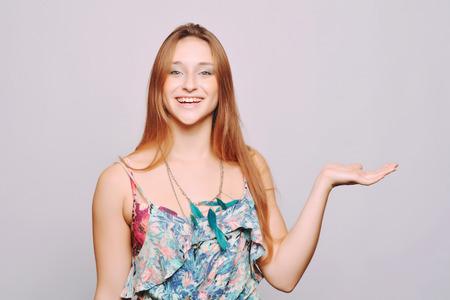 caucasian girl: Young caucasian girl