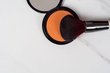 Close-up of some make up and beauty cosmetics. Фото со стока