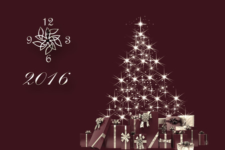 turn of the year: Merry Christmas! Waiting for 2016!