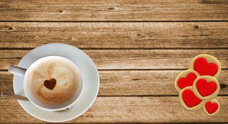 tarde de cafe: Antecedentes - Una taza sobre la mesa - Un caf� con amor
