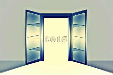 open doors: Collection open doors Stock Photo