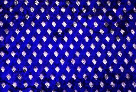 squared: Background Texture Grunge diamond squared blue