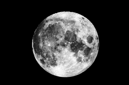 telescopic: Telescopic view of the beauty and full moon.