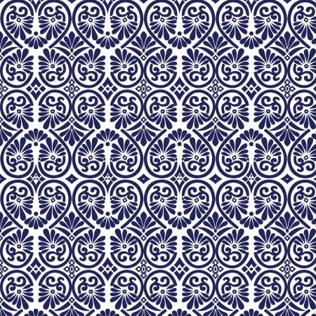 marokko: Sierlijke Naadloze Tegel Wallpaper