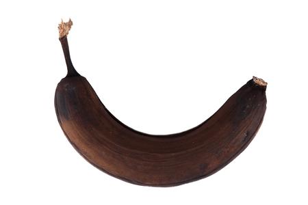 bad banana: banana rotten