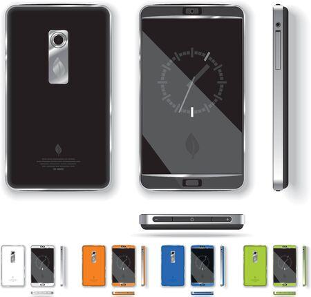 web side: Smart Phone Design - Vector Illustration