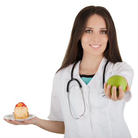 Nutritionist Recommending Fruits