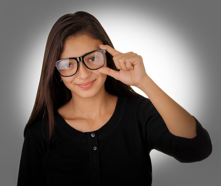 Girl with Glasses  photo