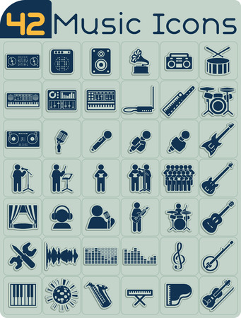 duet: 42 Music Icons Set