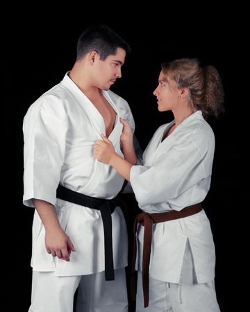 Karate Couple Passion  photo