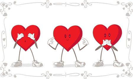 matrimonial: Love means to see no evil, hear no evil, speak no evil