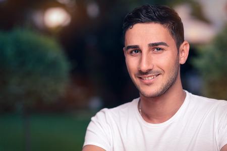 young fellow: Smiling Young Man Headshot