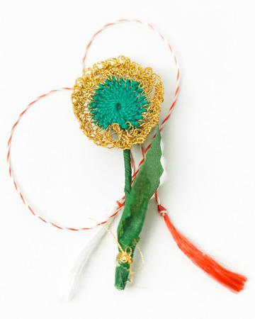 Crochet Flower Handmade Decorative Object