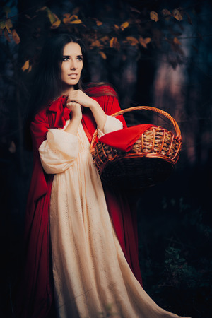 hood: Little Red Riding Hood in the Forest