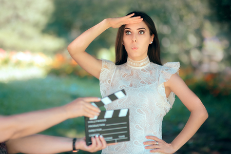 Funny Actress Auditioning for Movie Film Video Casting