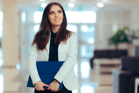 Female Entrepreneur  Business Executive Manager in Office Workplace Zdjęcie Seryjne - 95793132