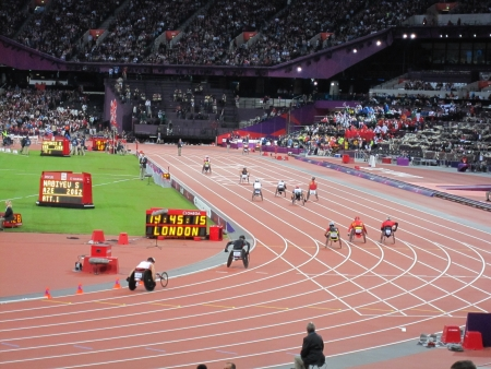 Wheelchair Racing London 2012