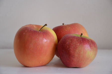 beautiful red apples Imagens