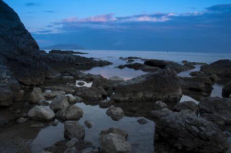 sunset in Black Sea