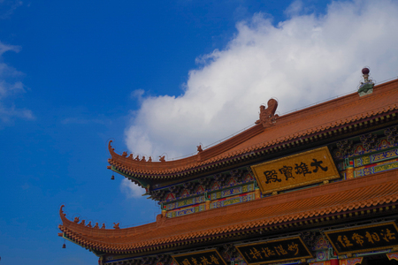 The eaves of the Chinese Temples Editöryel