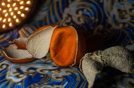 Chinese herbal medicine - Orange Peel Фото со стока