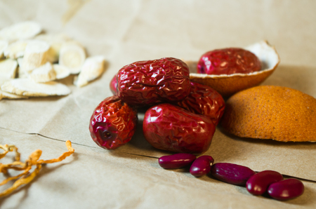 Chinese medicine food - a special case of Jujube Red Date