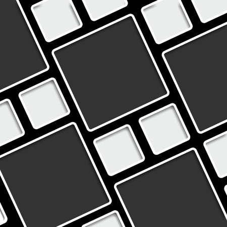 brillant: Conceptual cubes vector illustration Illustration
