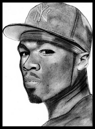 curtis: Portrait of Curtis Jackson aka 50 Cent