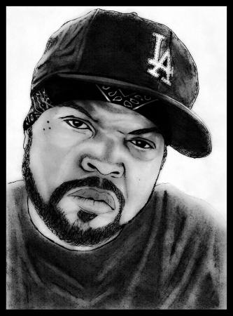 Portrait of Ice Cube