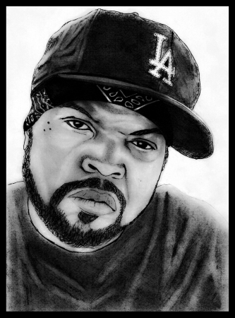 Portrait of Ice Cube Editorial