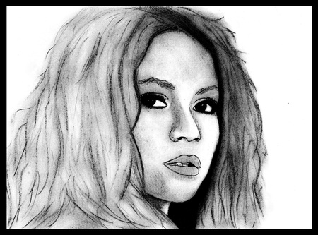 Portrait of Shakira