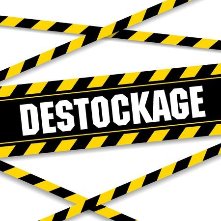 Destock の図