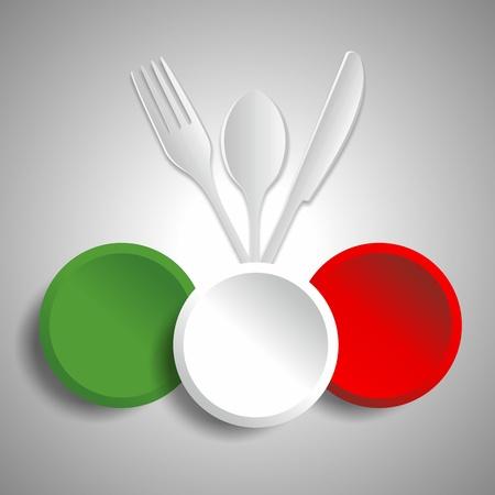 Food restaurant logotype vector illustration Stock Vector - 21577896