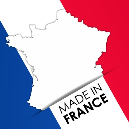 Made in France vector illustration Vector