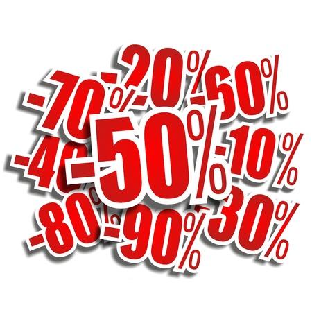 Discount prices illustration