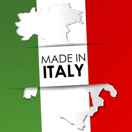 Made in Italy vector illustration