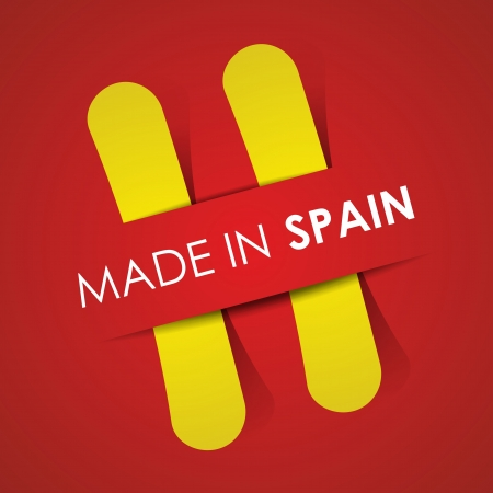 Made in Spain vector illustration Vector